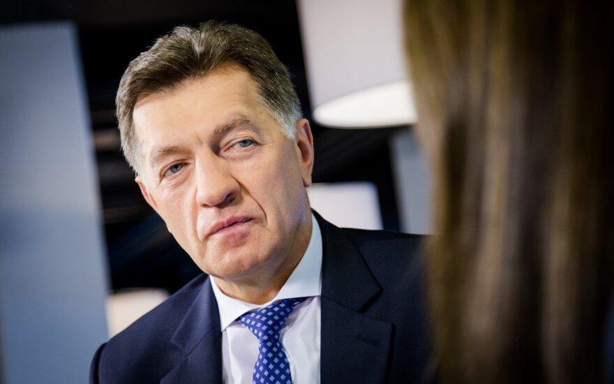 Prime Minister Algirdas Butkevičius at the DELFI TV Conference