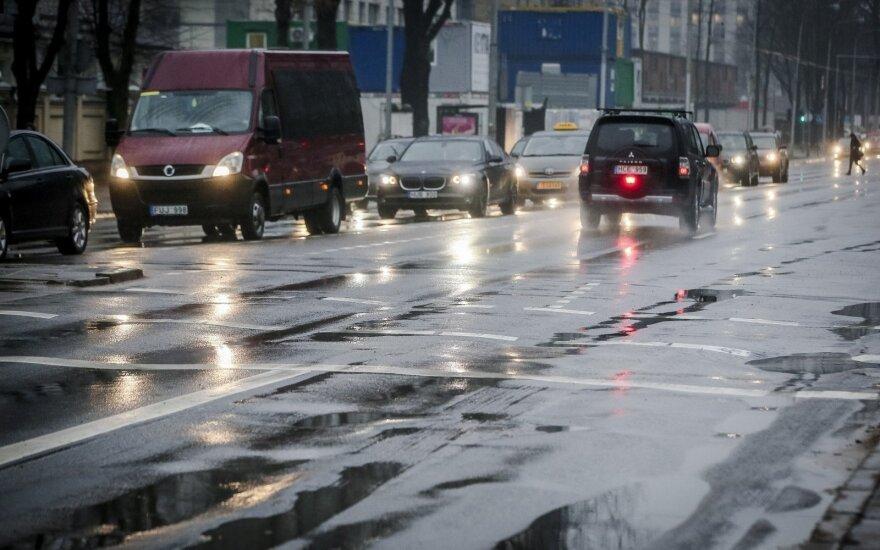 Daugelyje šalies rajonų — lietus