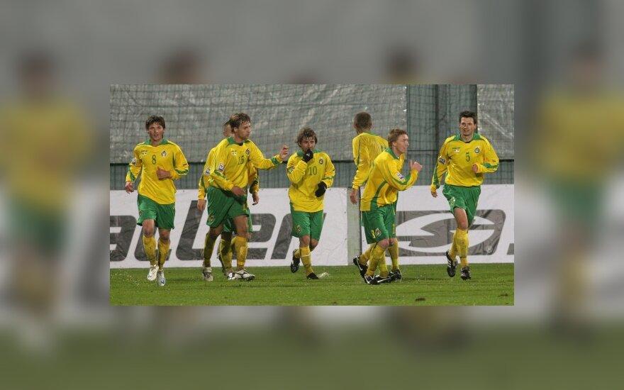 Lietuvos rinktinės futbolininkai