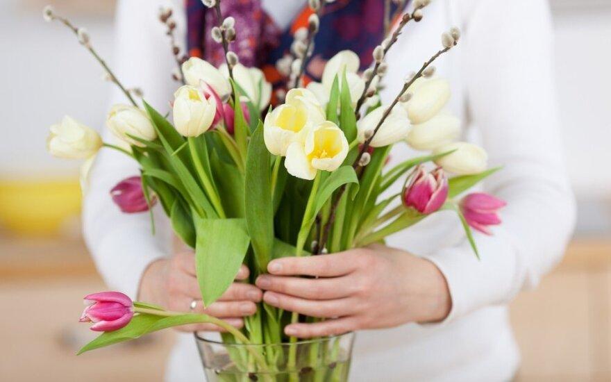 Floristė patarė, kaip išrinkti gėles mamai