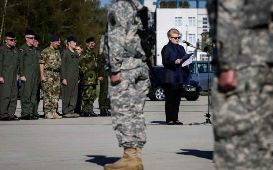 D. Grybauskaitė: jei nukentės bent vienas svečias, tai bus konfrontacija ne su Lietuva
