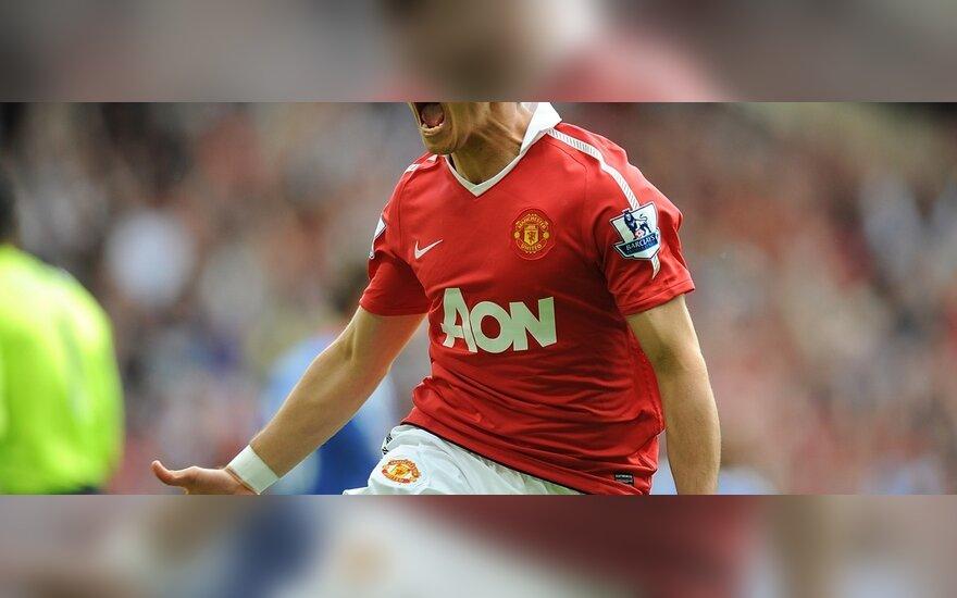 "Javieras Hernandezas (""Man Utd"")"