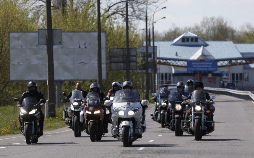 Lietuvos pasieniečiai nepraleido baikerių iš Rusijos
