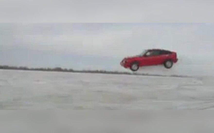 Skrendantis Honda CRX
