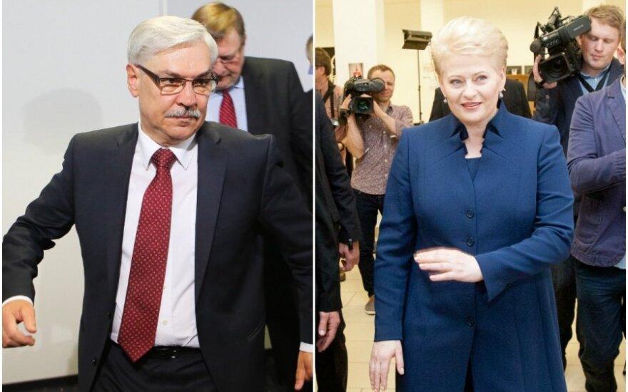 Trečia diena po rinkimų: naujas Z. Balčyčio ir D. Grybauskaitės konfliktas