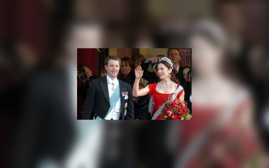 Danish Crown Prince Frederik and Crown Princess Mary