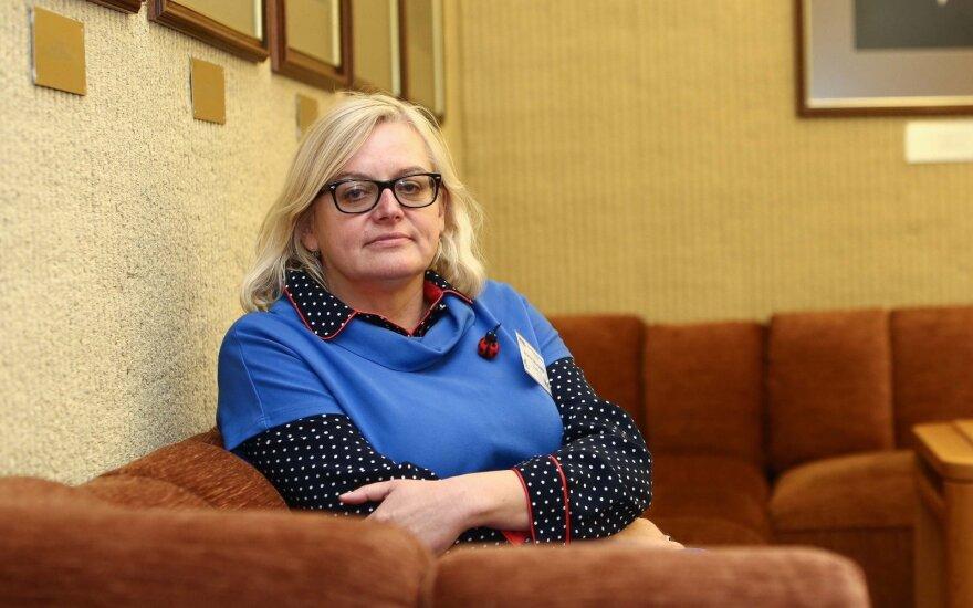 Buvusi Lietuvių kalbos instituto vadovė Zabarskaitė toliau ginčija atleidimą iš pareigų