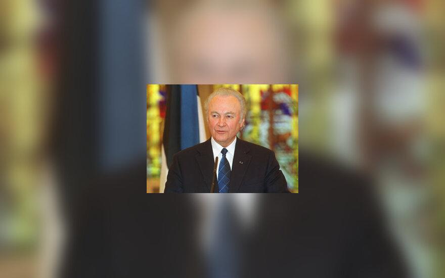 Arnold Ruutel Estijos prezidentas