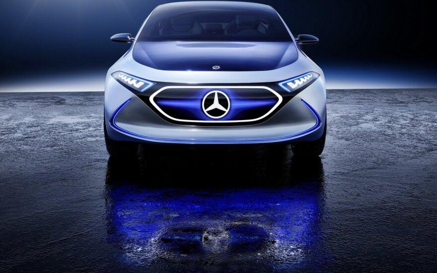 "Vienas iš koncepcinių ""Mercedes-EQ"""