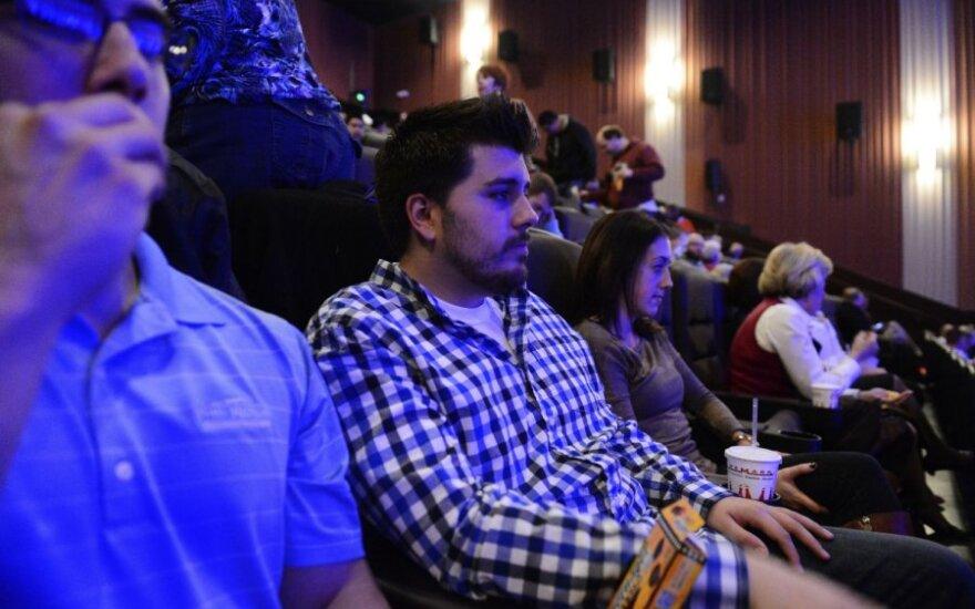 Kolorade iš naujo atidarytas žudynių arena buvęs kino teatras