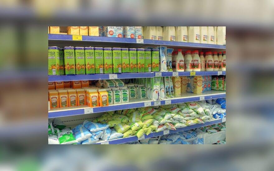 Per savaitę kai kurie pieno produktai brango 6-9 proc.