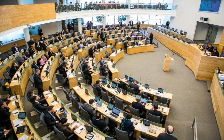 Naujajame Seime dirbs daugiau kaip pusė naujų narių