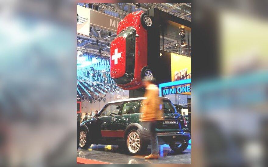 """""""Rover MINI Cooper"""" automobilis"""