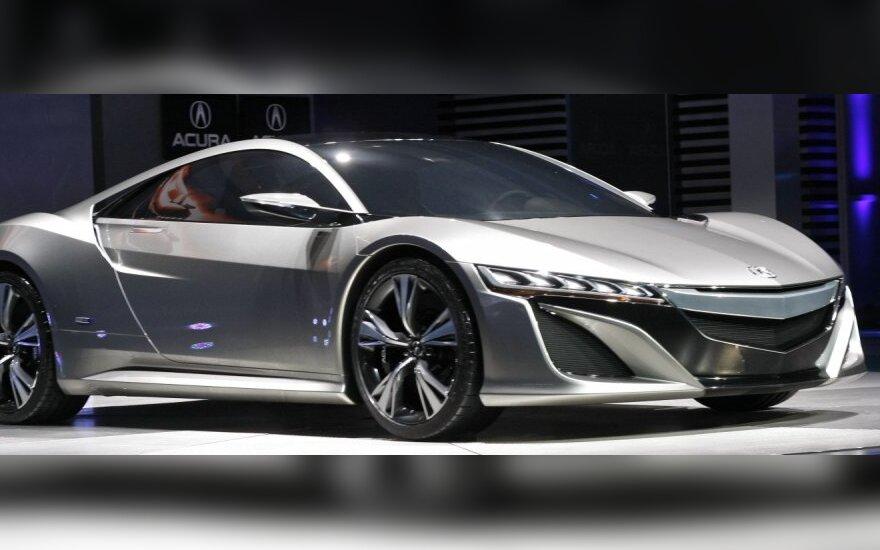 Nauja NSX koncepcija