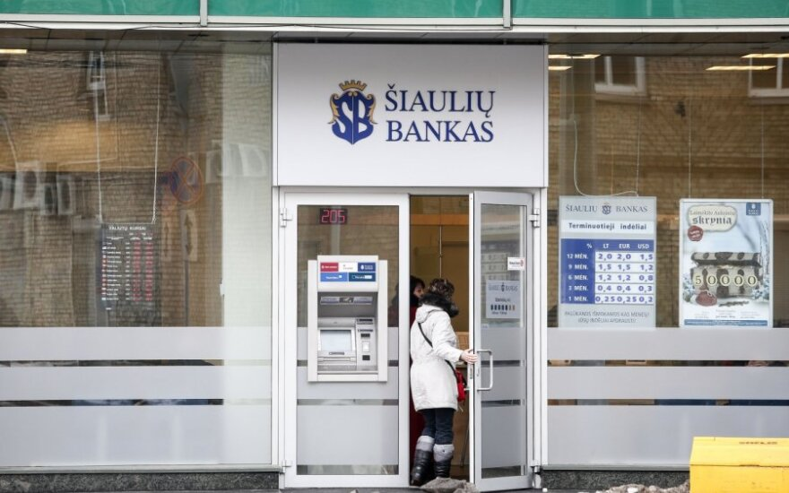 Šiaulių bankas prašo Konkurencijos tarybos leidimo įsigyti dalį Ūkio banko