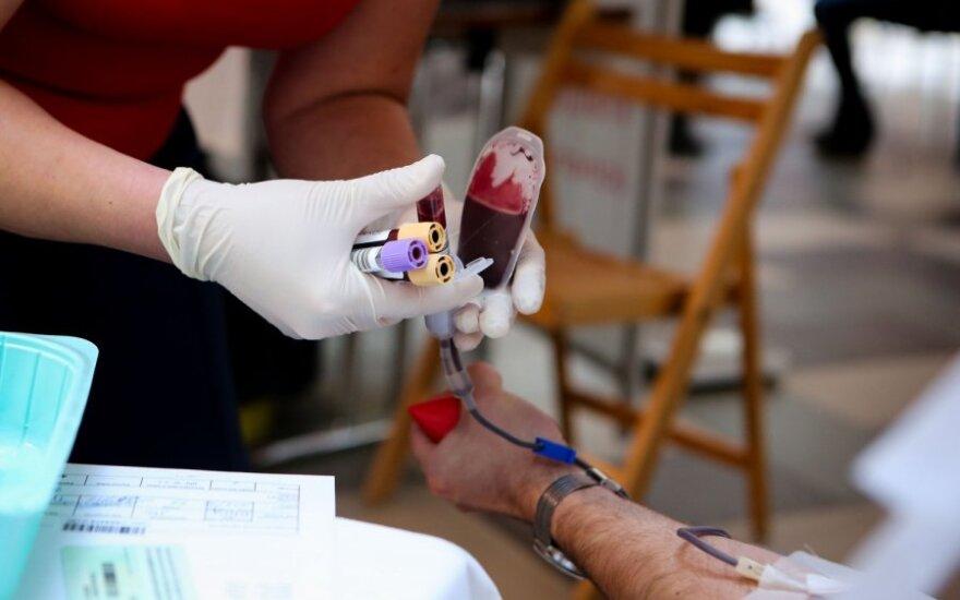 Skubiai ieškomas kraujo donoras
