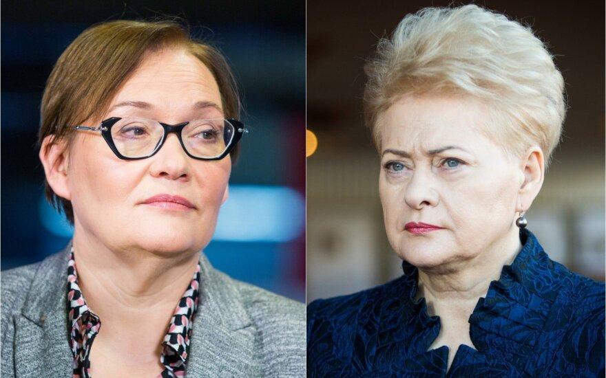 Aušra Maldeikienė ir Dalia Grybauskaitė