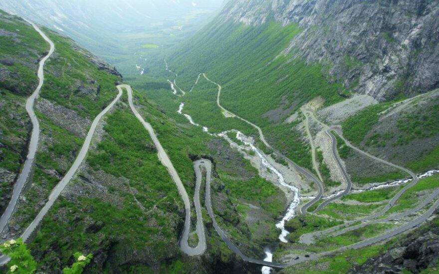 Trollstigen kelias