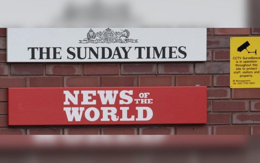 "Bulvarinis laikraštis ""News of the World"""