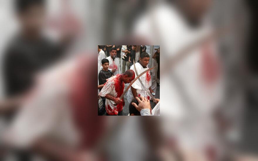 Kruvinas šiitų ritualas