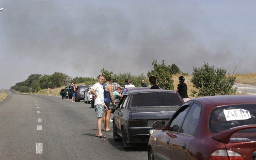 Ukraina: Mariupolyje aidi sprogimai