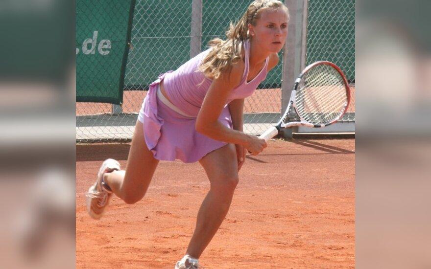 L.Stančiūtė WTA reitinge pakilo į 207-ą vietą