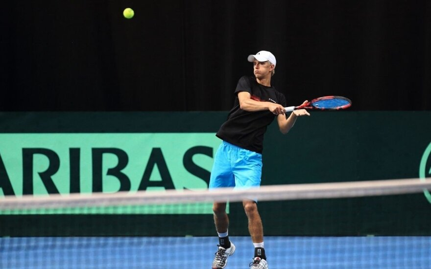 Antras karjeros titulas: L. Mugevičius laimėjo turnyrą Ukrainoje
