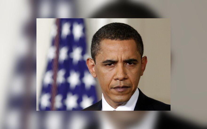 """JAV prezidentas pažadėjo """"visišką paramą"""" CŽV darbuotojams"""