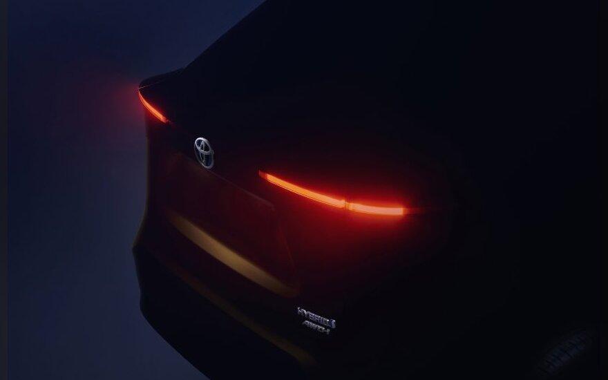 Naujasis Toyota B segmento SUV