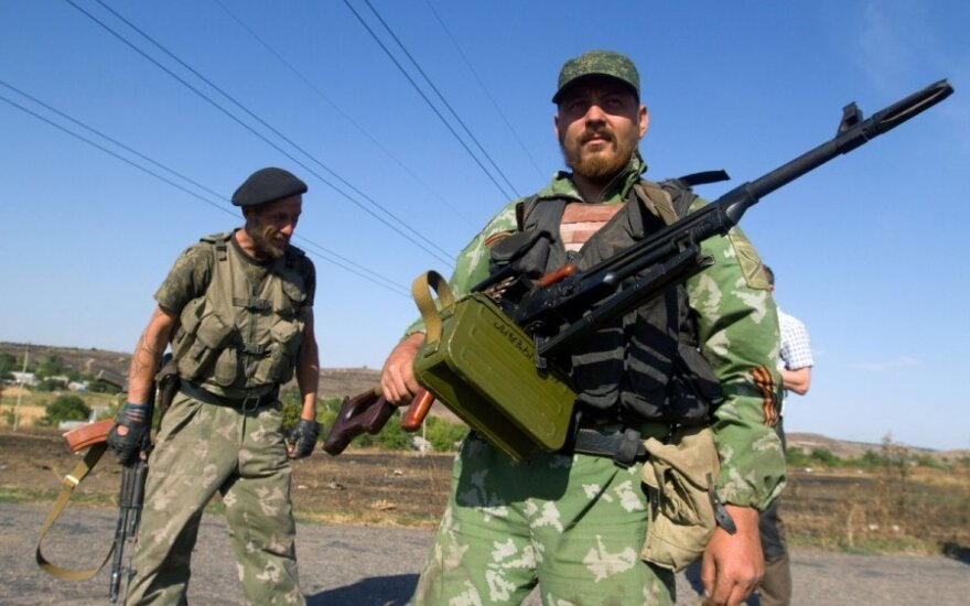 Ukrainos separatistų grasinimai: mūsiškiai grįš ir jus sušaudys