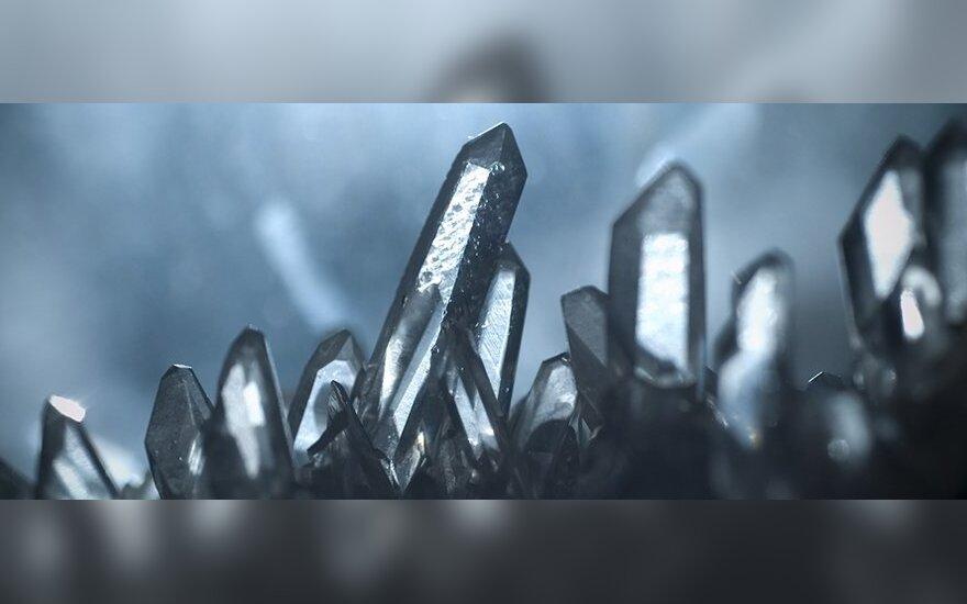 Kristalai oloje