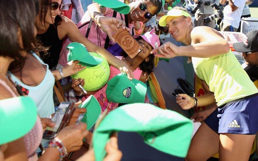 A. Kerber laimėjo WTA turnyrą JAV