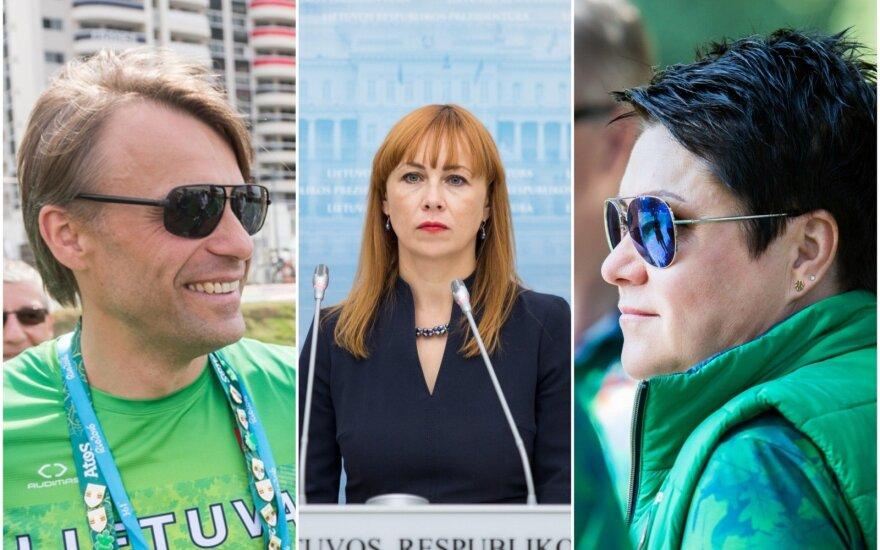 Edis Urbanavičius, Jurgita Petrauskienė, Daina Gudzinevičiūtė