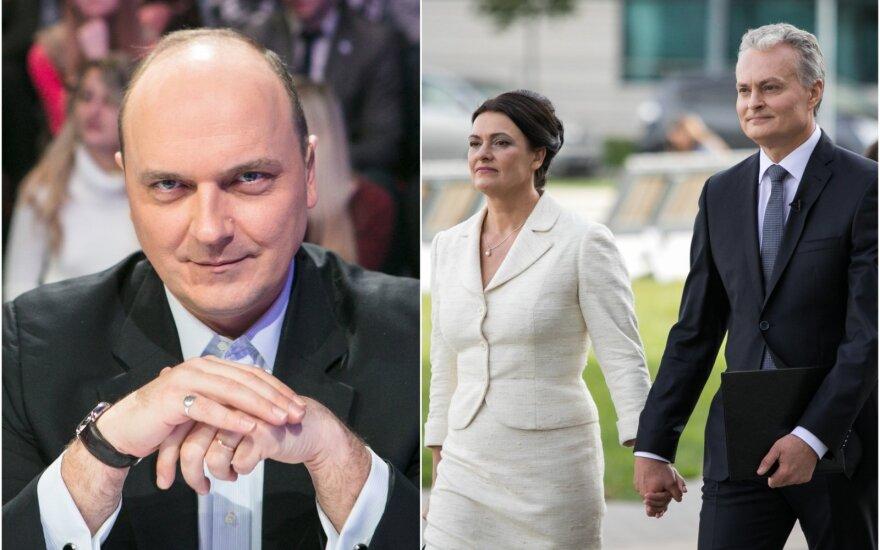 Giedrius Drukteinis, Diana ir Gitanas Nausėdos