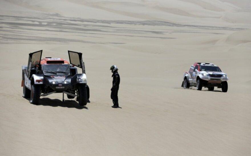 Kitų metų Dakaro ralyje – rekordinis lietuvių skaičius?
