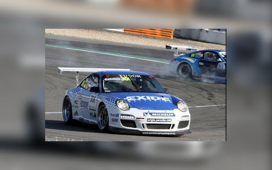 Jonas Gelžinis Niurburgringo trasoje