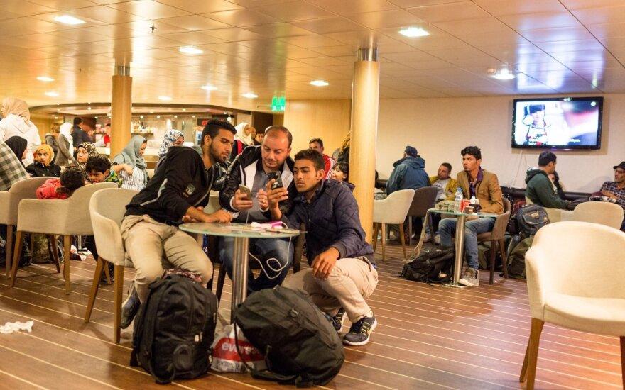 Pabėgėlių kelte sutiktas siras perspėjo Europą
