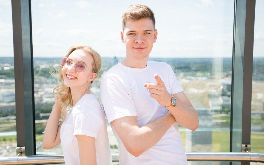 Paula Valentaitė ir Ignas Lelys