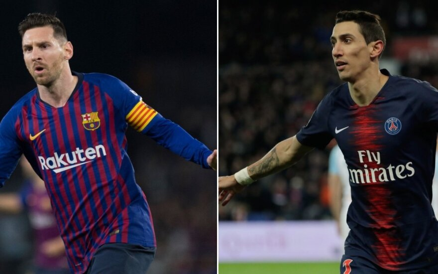 Lionelis Messi ir Angelis Di Maria