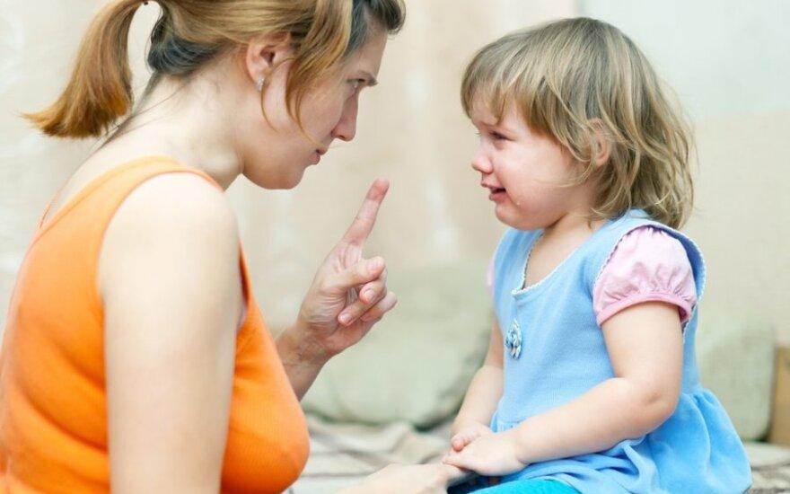Kodėl klysti auklėjant vaikus - normalu