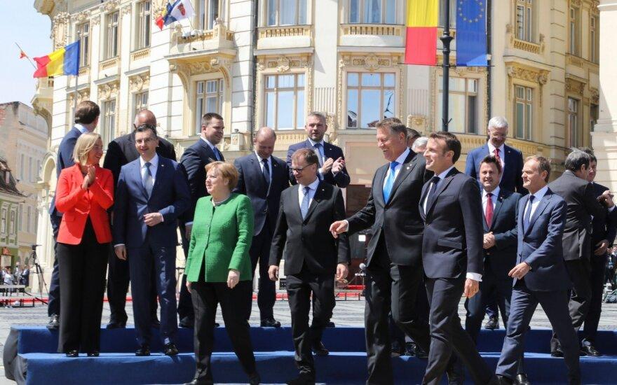 ES šalių lyderių susitikimas Rumunijoje