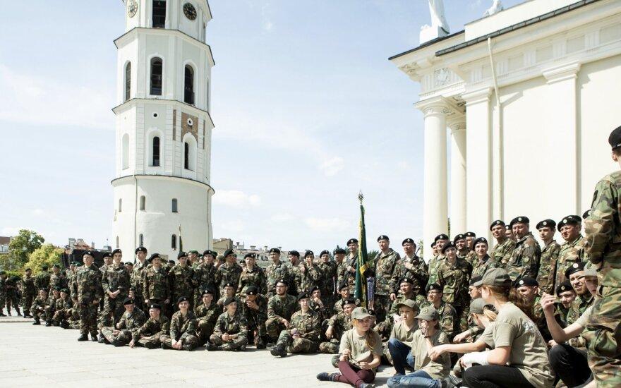Vilniuje paminėtos šimtosios Šaulių sąjungos metinės
