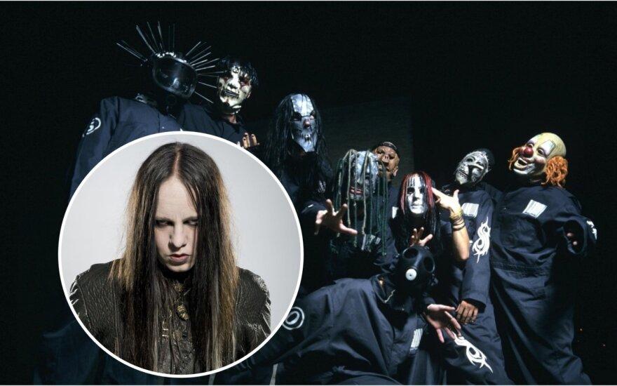 """""""Slipknot"""" ir grupės narys Joey Jordisonas"""