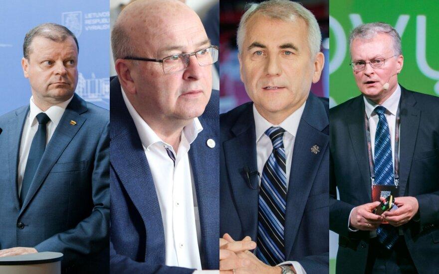 Kandidatų į prezidentus reitingai jau keičiasi: artėja didžiųjų permainų metas