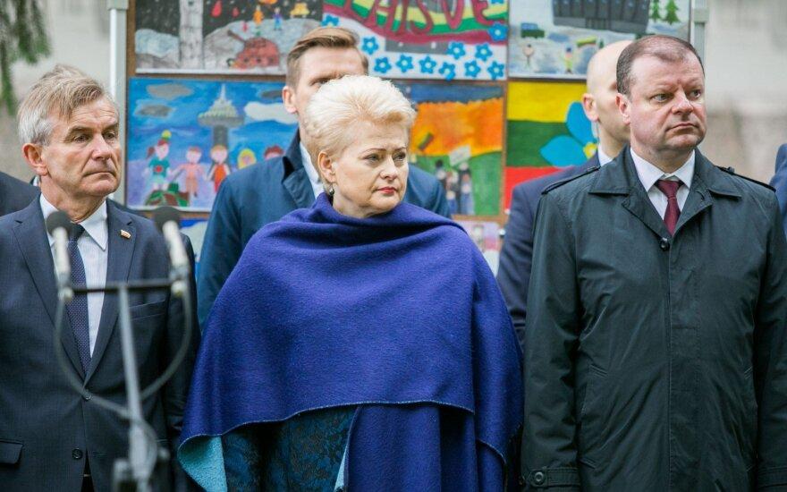 Viktoras Pranckietis, Dalia Grybauskaitė, Saulius Skvernelis