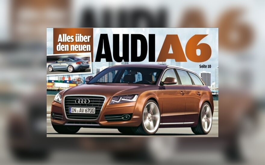Nauja Audi A6. AutoBild nuotr.