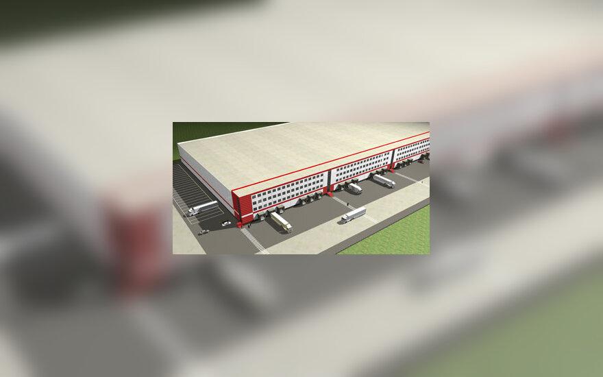 """""""Kavaskos"""" logistikos centro vizualizacija"""