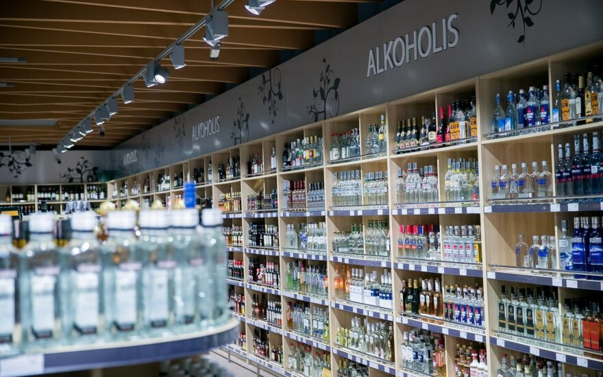 Alcohol in Norfa shopping centre
