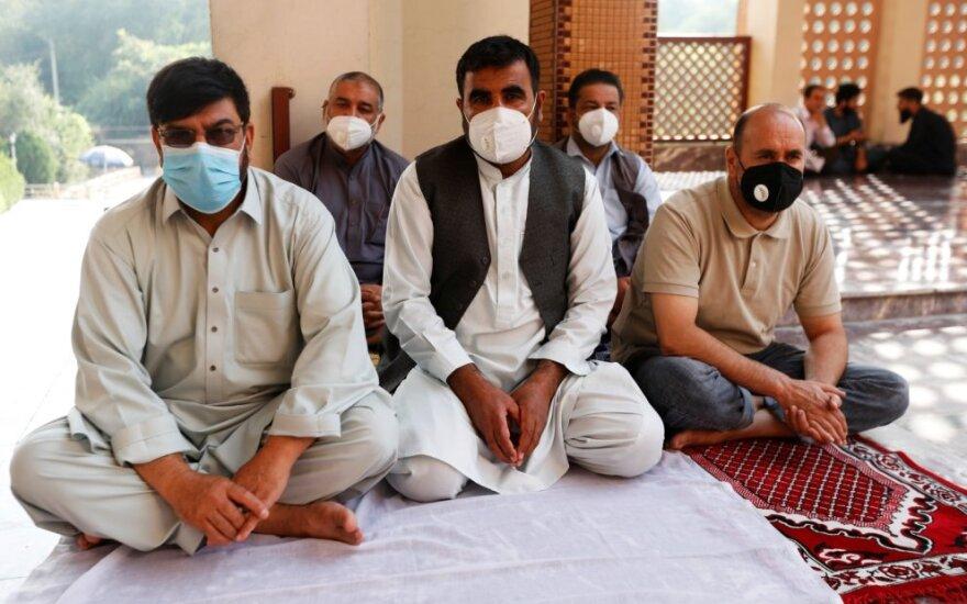 koronavirusas Afganistane