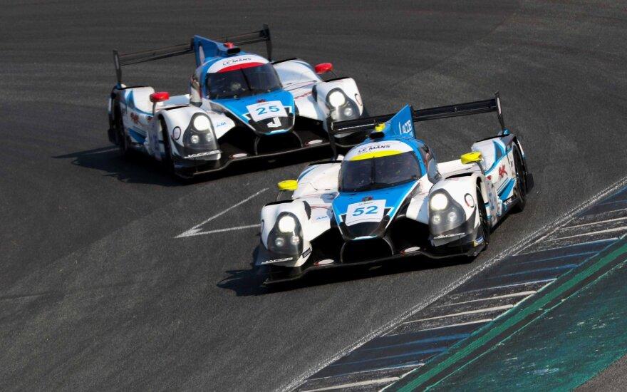 Gusto Grinbergo Tailande nesustabdė net gendantis automobilis, o komanda tapo čempione